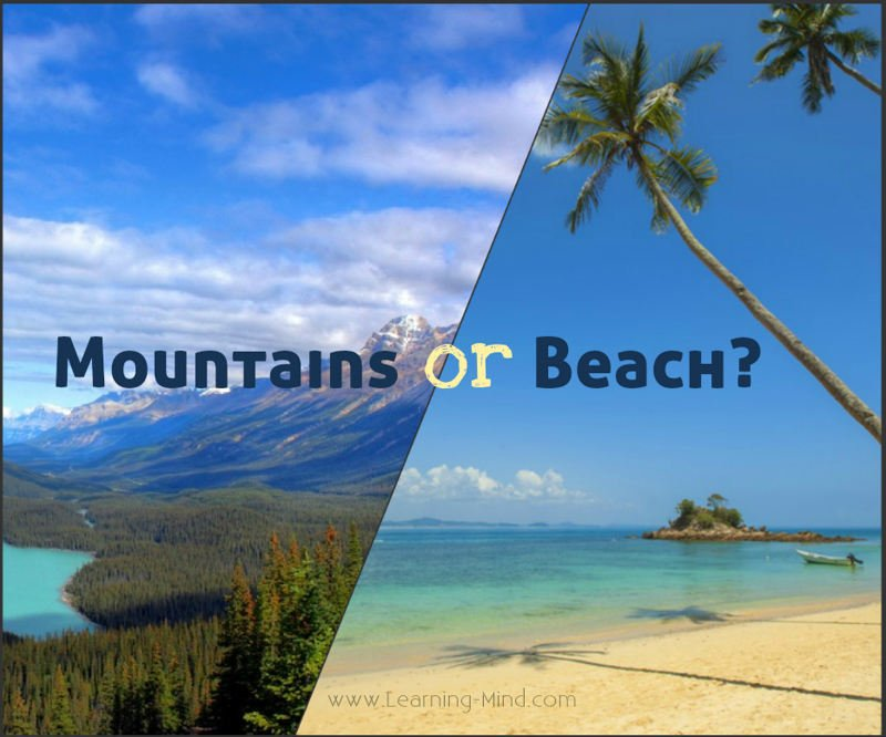What Your Favorite Holiday Destination Reveals about Your ...