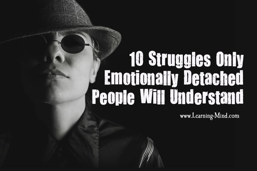 emotionally detached people