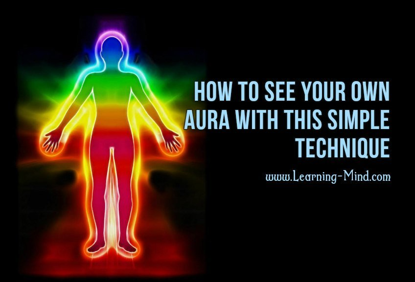 how to see your own aura