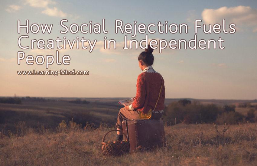 social rejection creativity