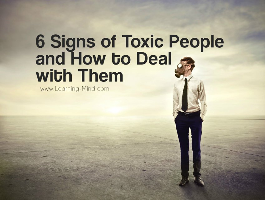 toxic people signs