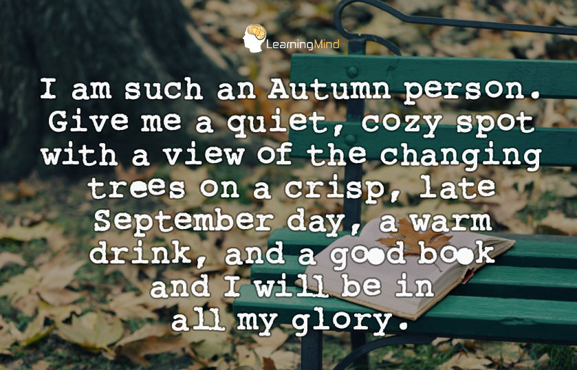 autumn person