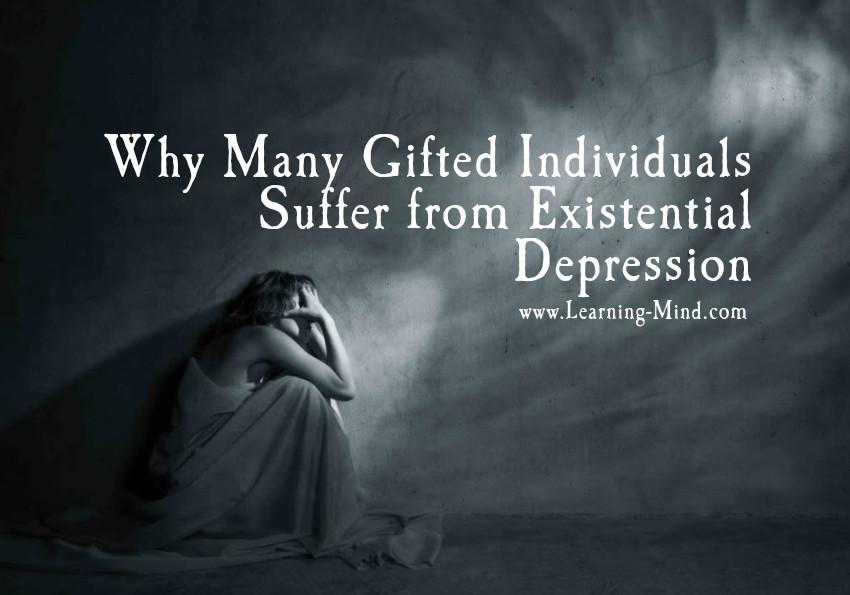 Existential depression intelligence