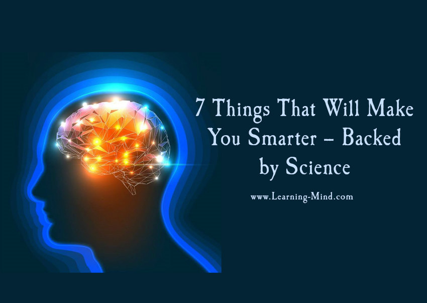things that make you smarter