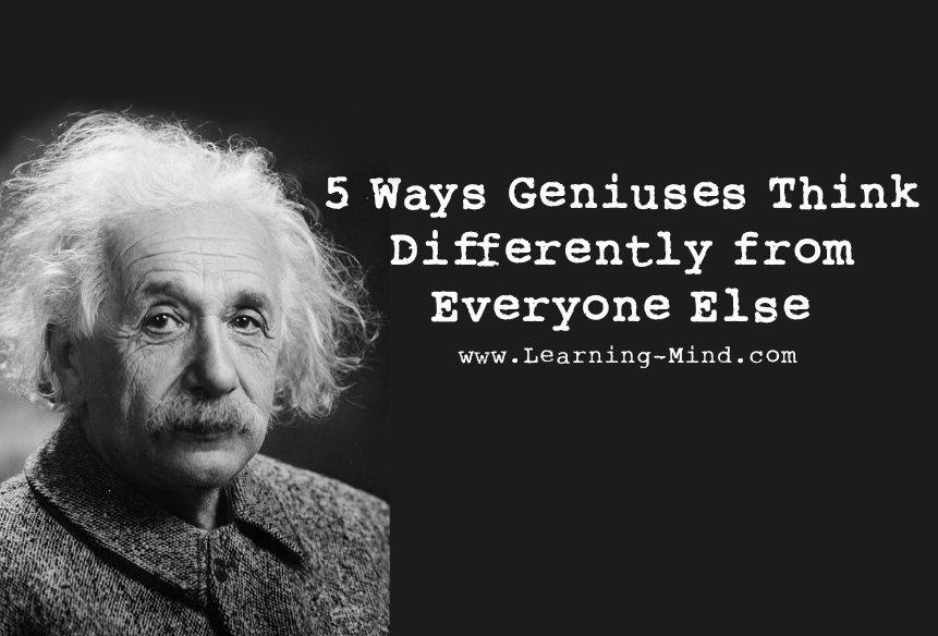 geniuses think