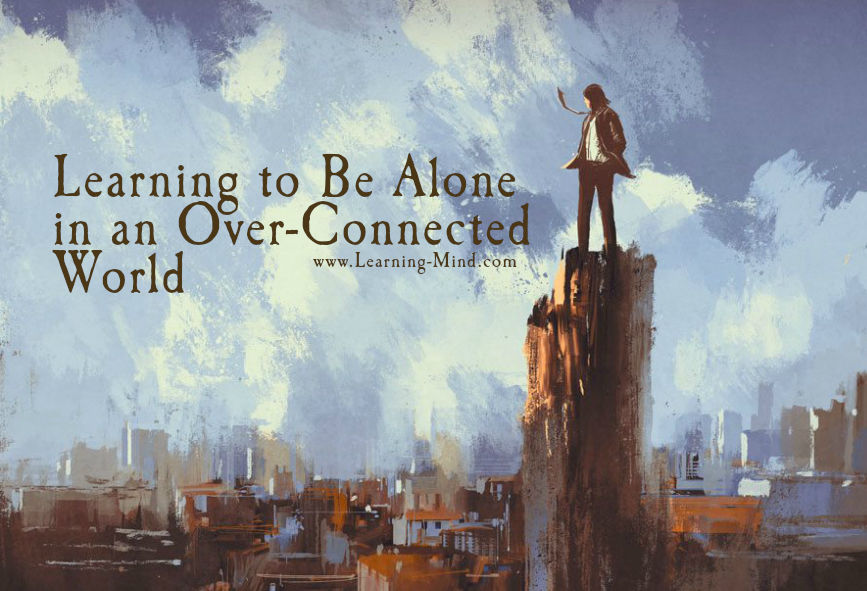 learning to be alone