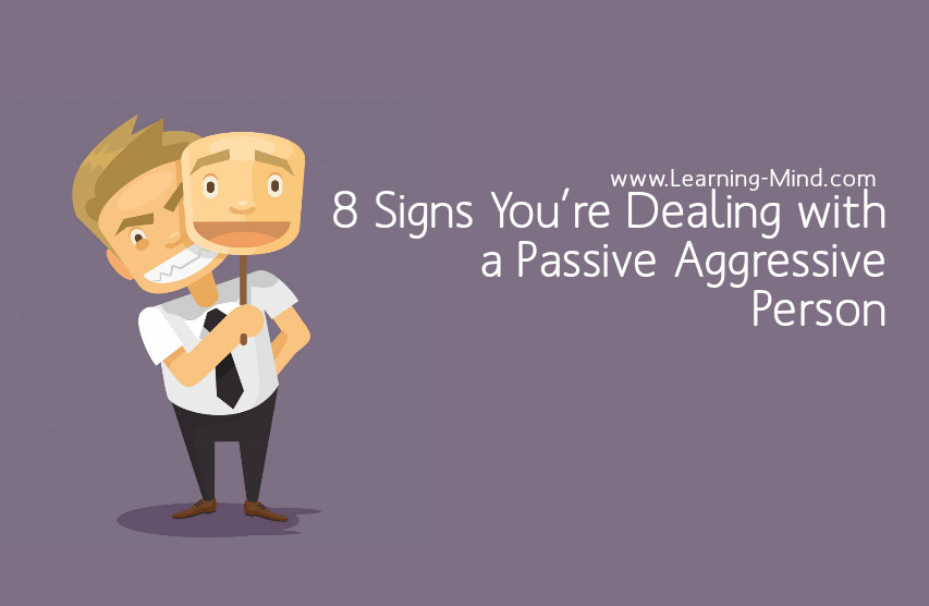 Signs of passive aggressive personality