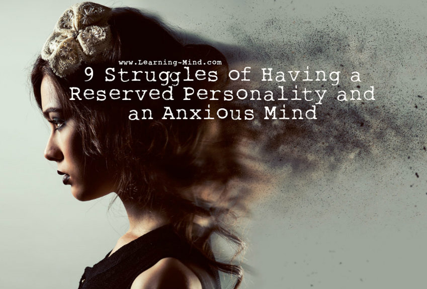 reserved personality anxious