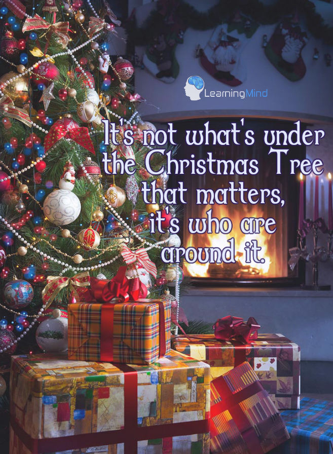 it's not what under the christmas tree