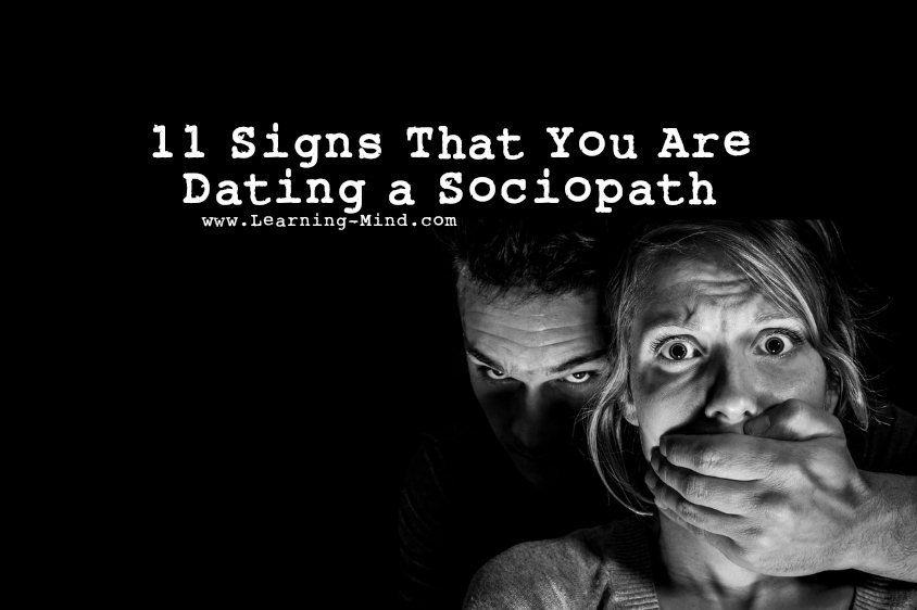 You Sociopath Signs Were Dating A