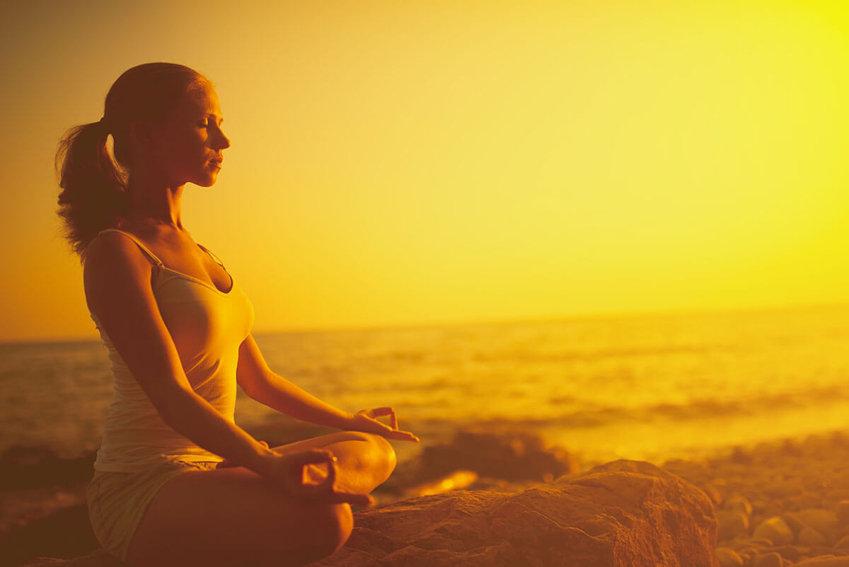 meditative breathing
