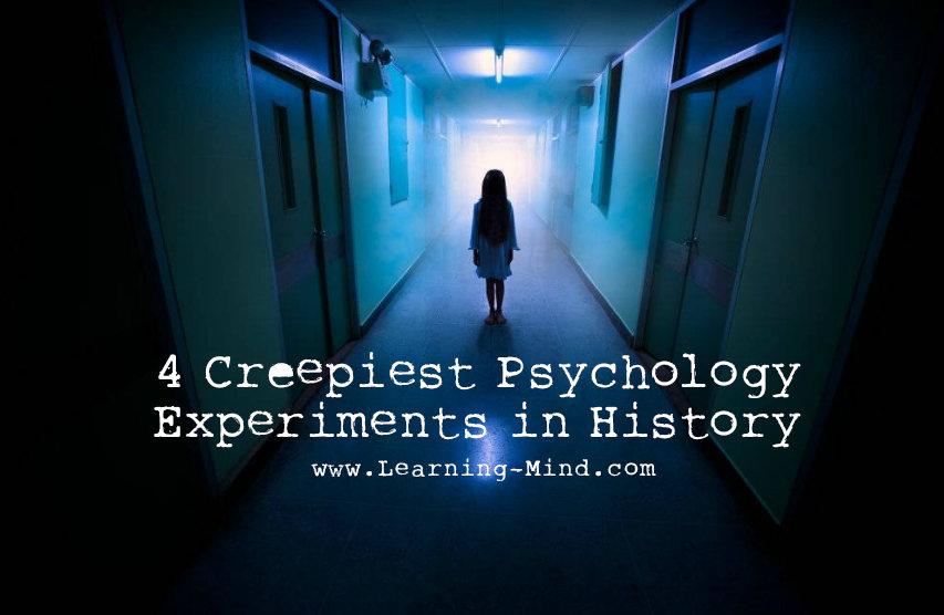 psychology experiments creepy
