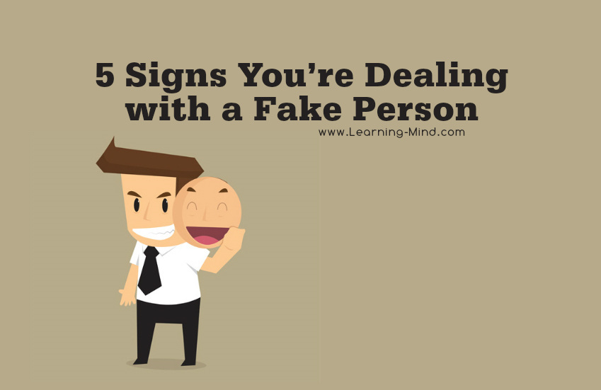 fake person signs
