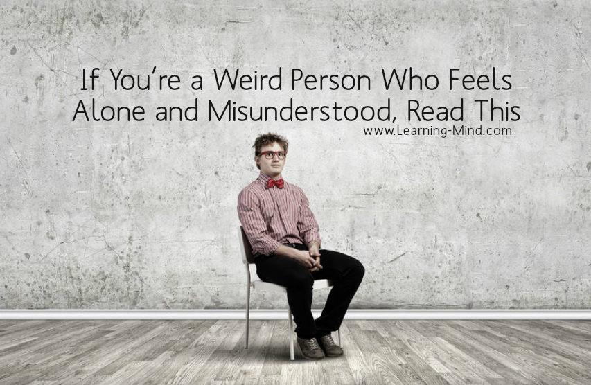 weird person