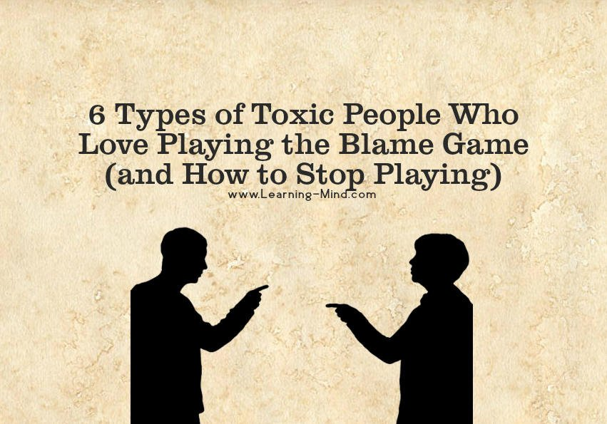 Blame Game And 6 Types Of Toxic People Who Love Playing It