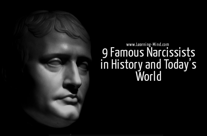 famous narcissists history