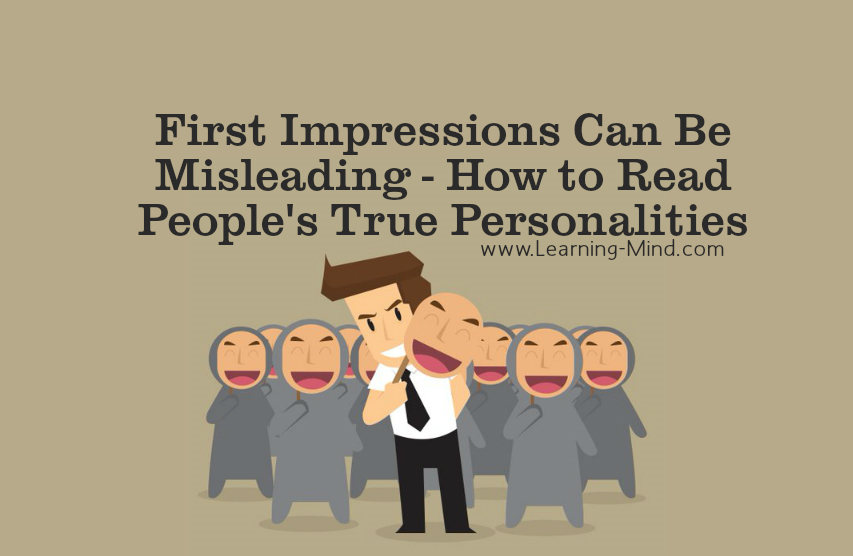 Essay about how the first impression can be misleading