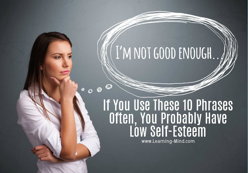 Signs of low self esteem in woman