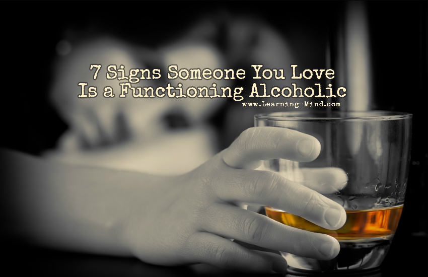 how to tell if someone is a functioning alcoholic