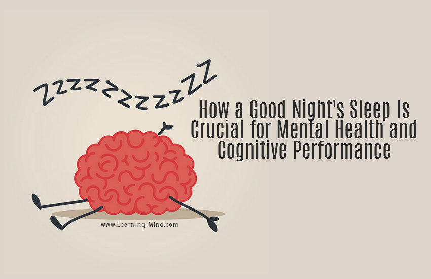 How A Good Night's Sleep Is Crucial For Mental Health And
