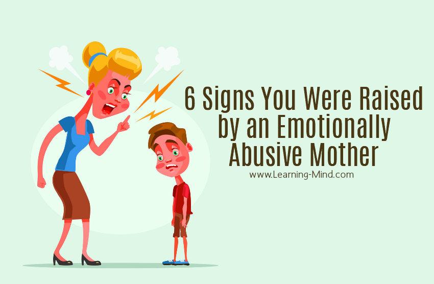 Emotionally needy mothers