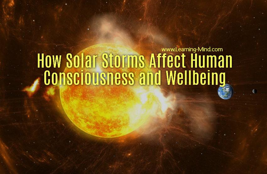 solar storms human consciousness