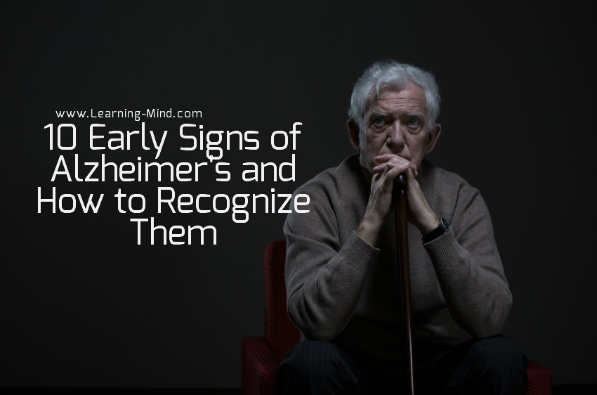 early signs of alzheimers