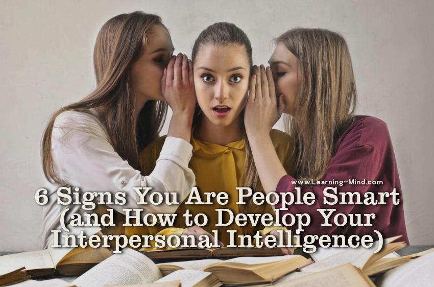 people smart interpersonal intelligence