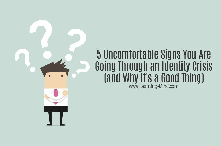 identity crisis stages signs
