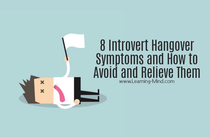 introvert hangover symptoms