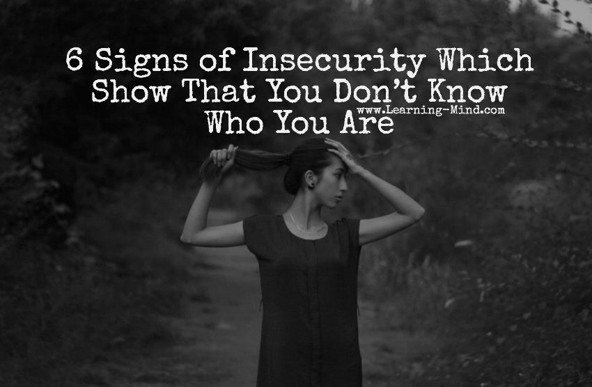 Signs youre dating an insecure man