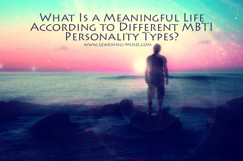 meaningful life mbti