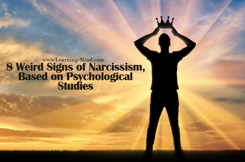 weird signs of narcissism