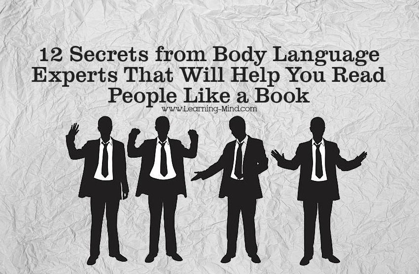 body language experts secrets