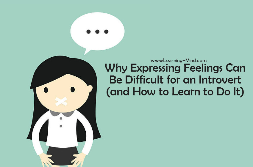 expressing feelings introvert