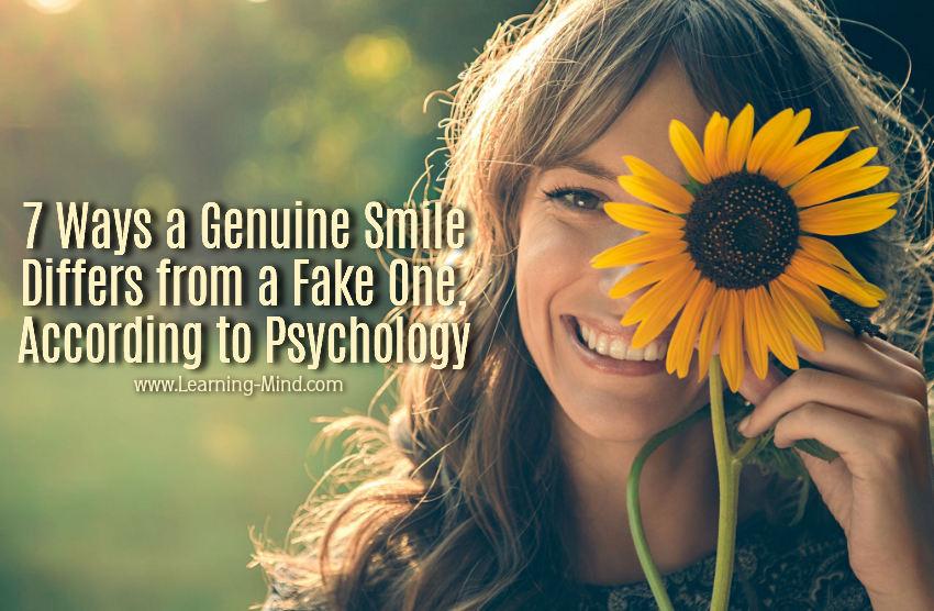 genuine smile psychology