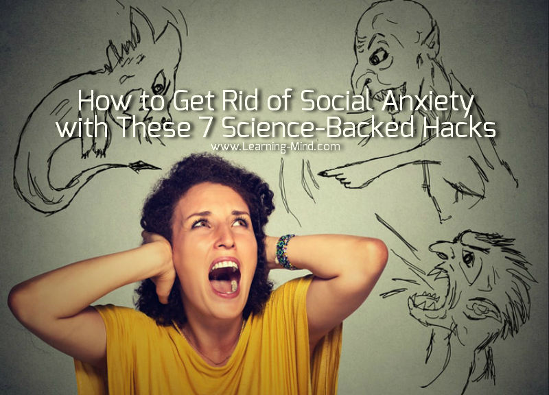 How to get rid of social anxiety