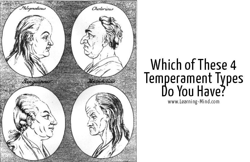 temperament psychology type