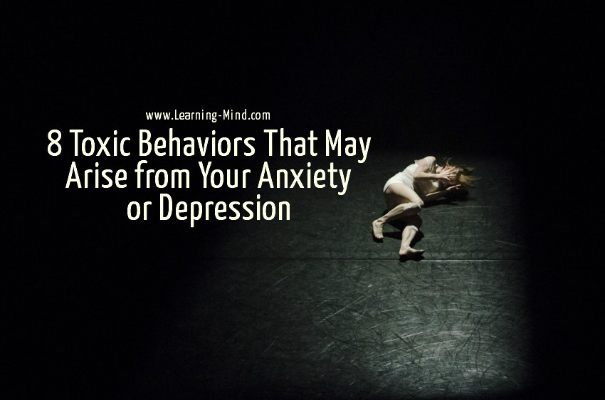 toxic behaviors anxiety depression