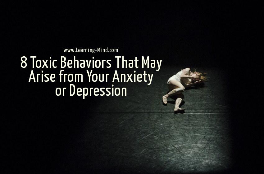 toxic behaviors anxiety depression