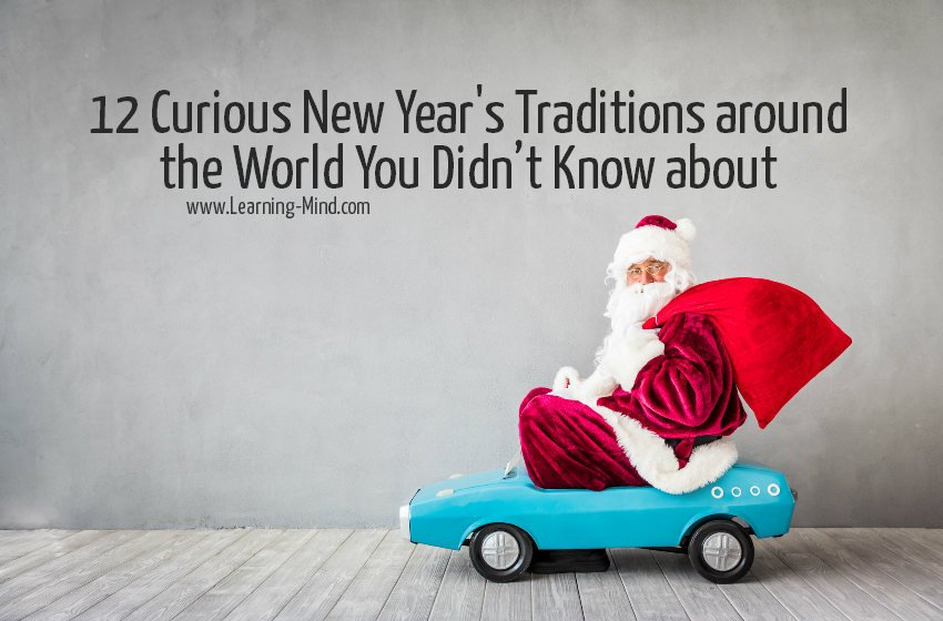 curious new years traditions