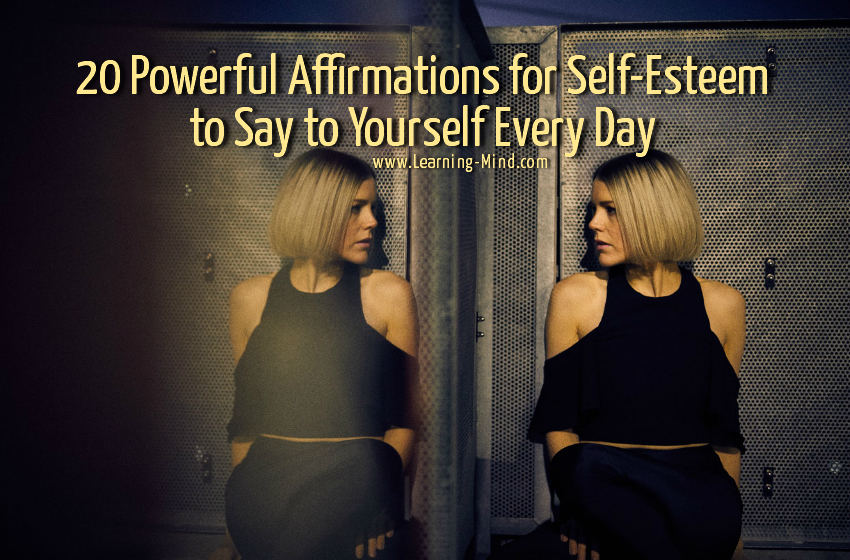 affrmations for self-esteem