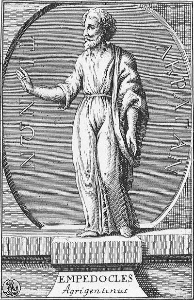 Empedocles greek philosophers