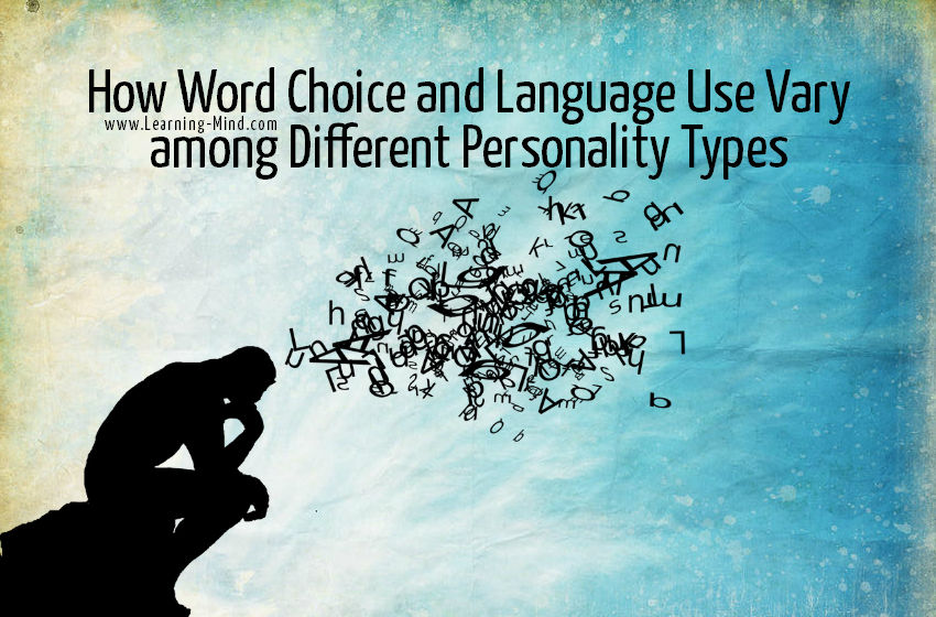 word choice language personality types