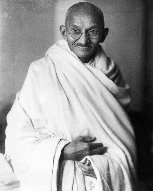 Gandhi famous people with infj personality