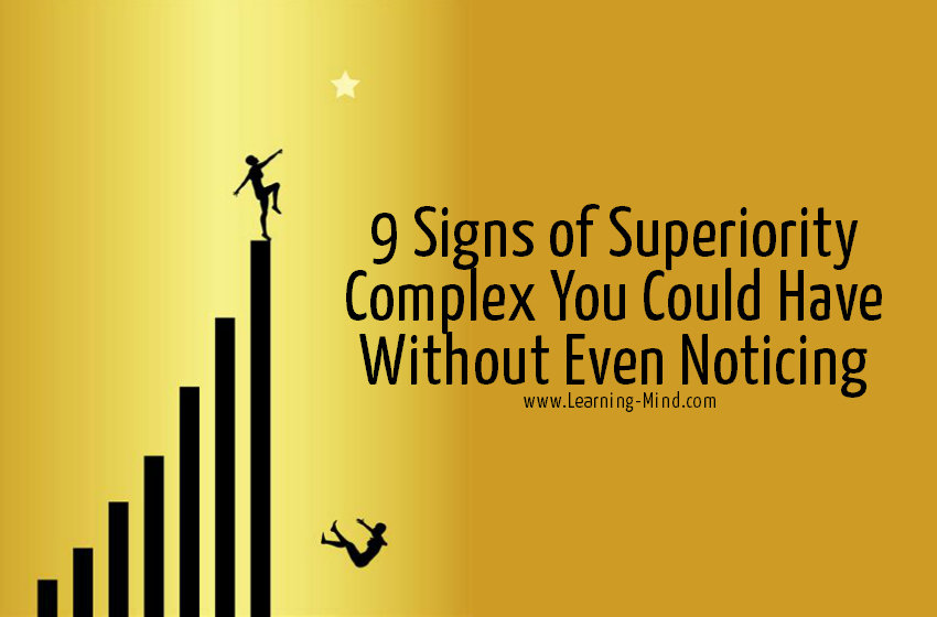 superiority complex signs