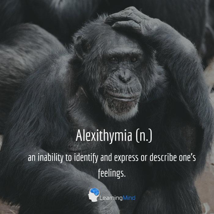 Alexithymia definition