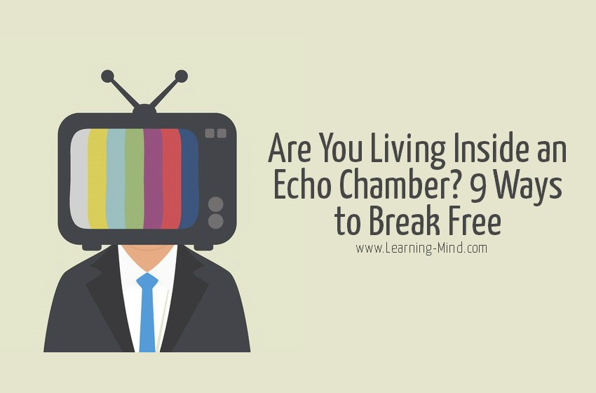 echo chamber break free