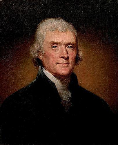 488px Official Presidential portrait of Thomas Jefferson by Rembrandt Peale 1800cropped - 7 Orang Terkenal dengan Asperger yang Membuat Terobosan di Dunia