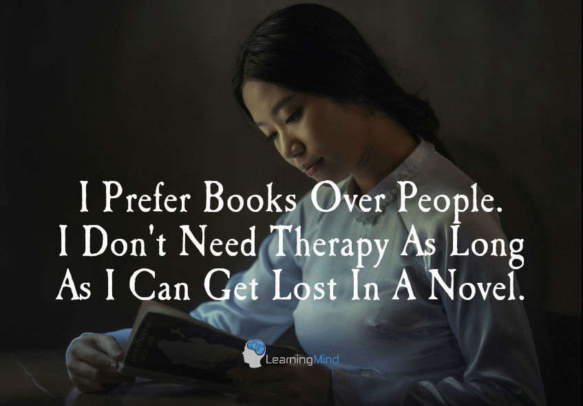 I Prefer Books Over People